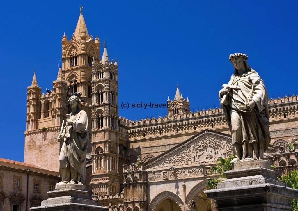 Экскурсии на Сицилии: Палермо, кафедральный собор