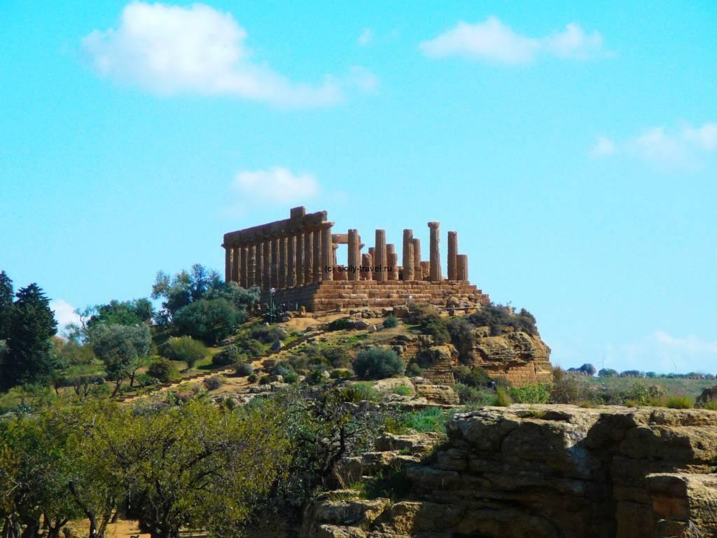 Агридженто. Храм Геры