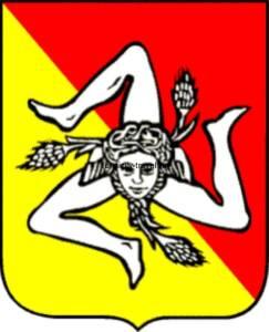 Герб Сицилии с изображением трикселиона