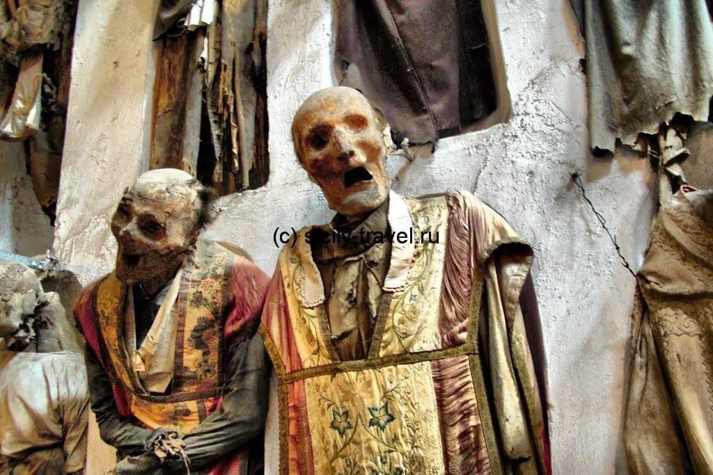 Захоронения священников ордена Капуцинов
