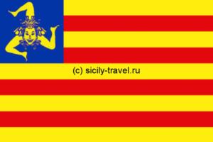 Флаг сицилийского движения за независимость
