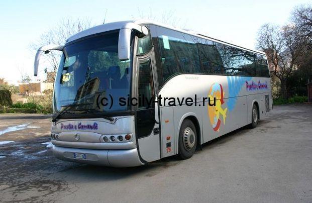 Автобус из аэропорта Палермо