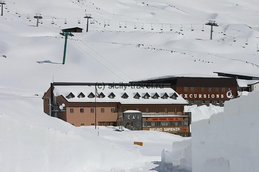 Горнолыжный курорт Этна Ски Юг Николози