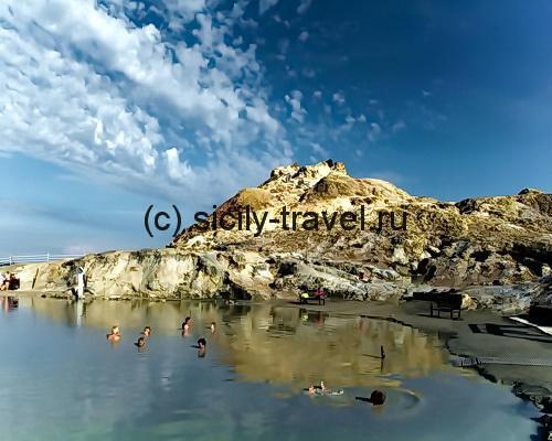 Пляжи острова Вулкано
