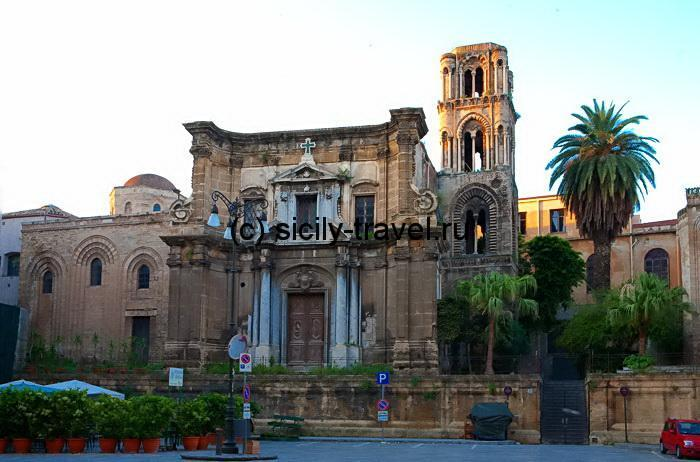 Церковь Ла Марторана в Палермо