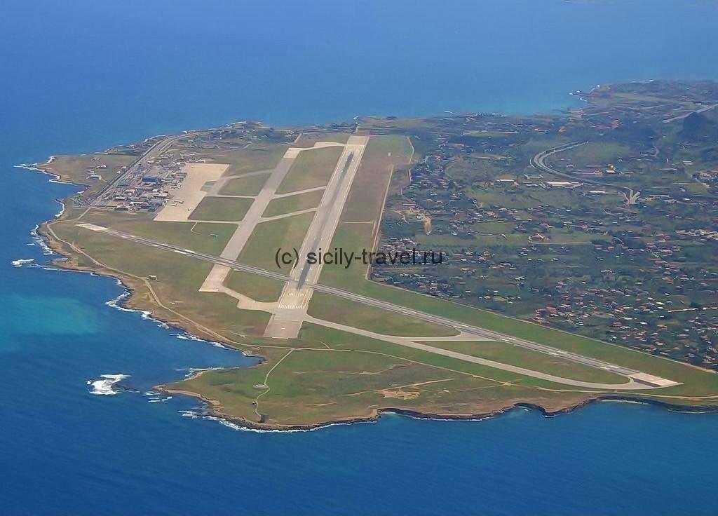 Три взлетные полосы аэропорта Палермо
