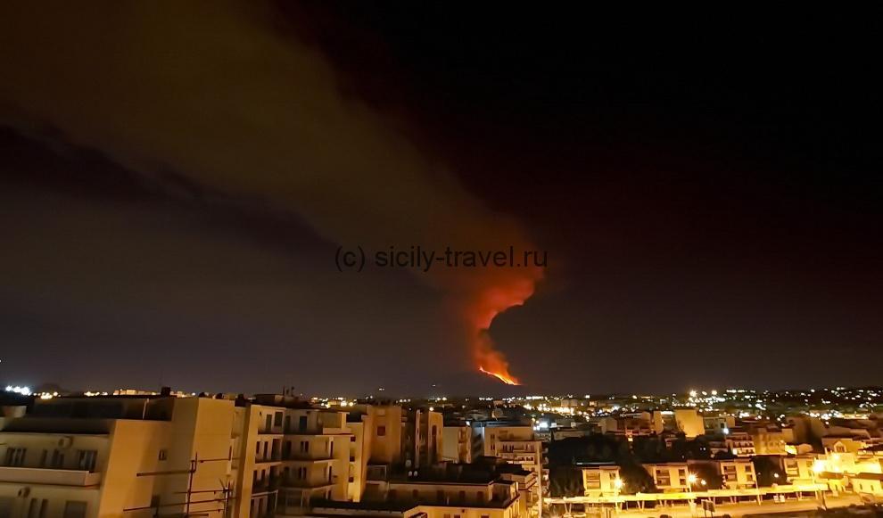 Вулкан Этна в жизни Сицилии