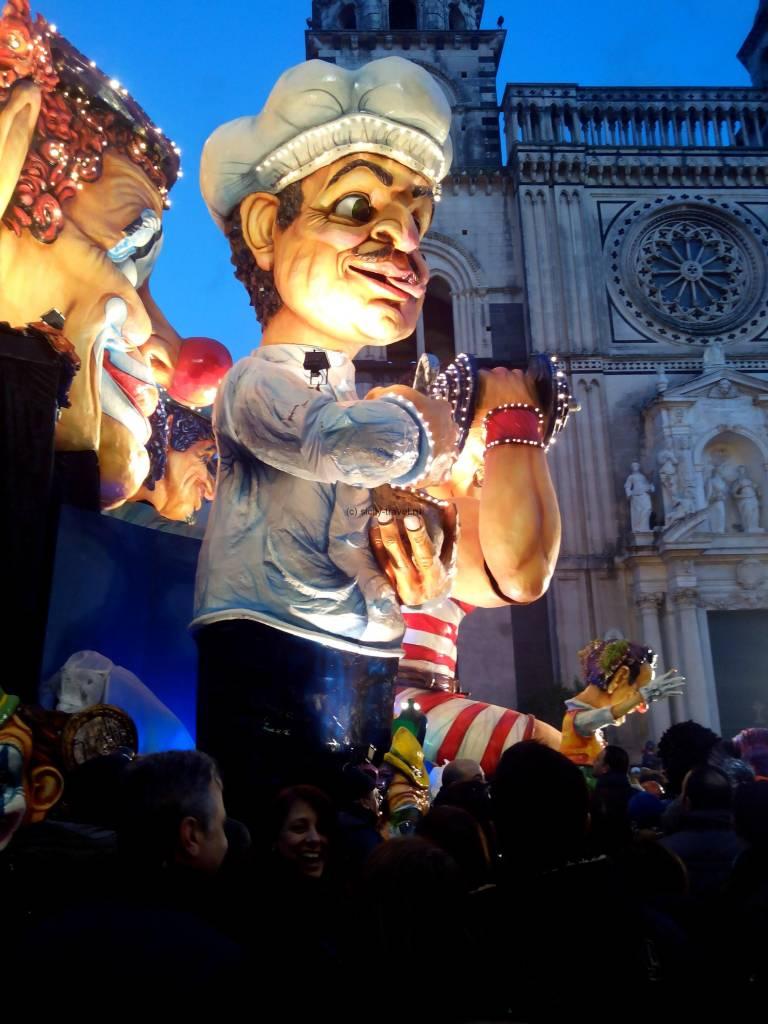 Фигура на карнавале