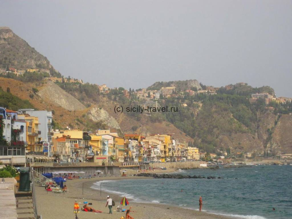 Пляжи Джардини Наксос