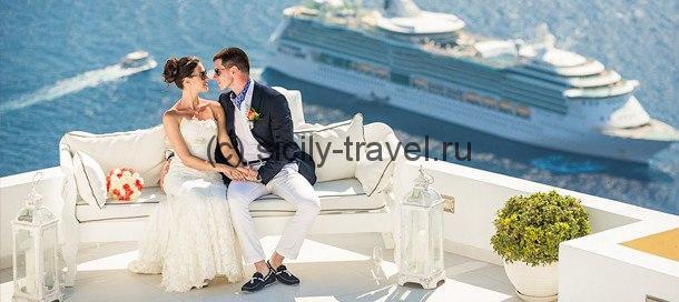 Романтическая свадьба на Сицилии