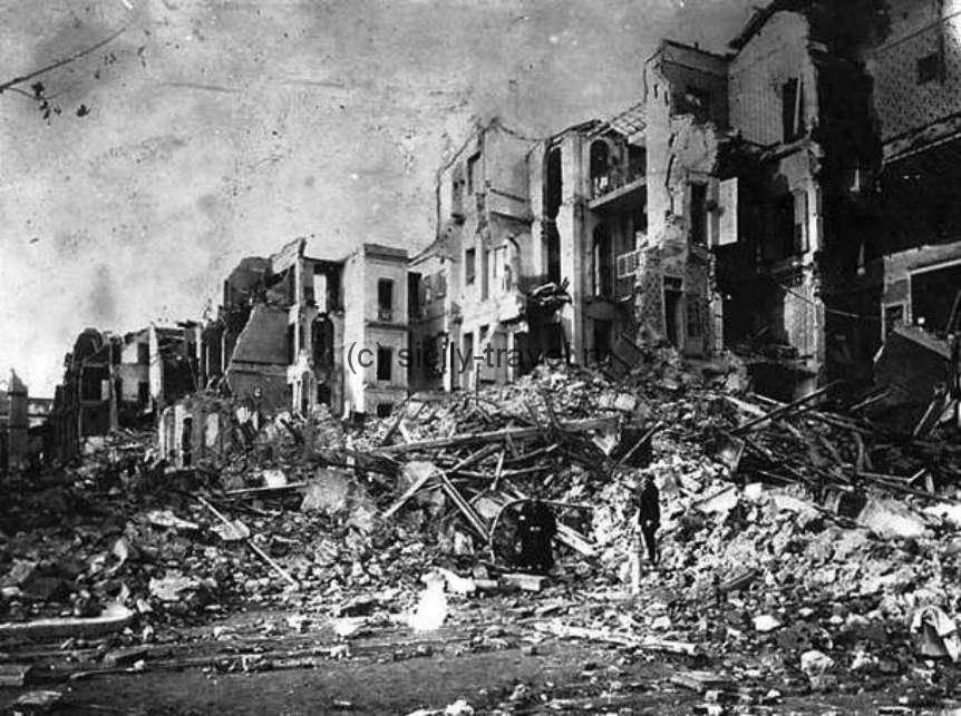 Землетрясение на Сицилии 1908