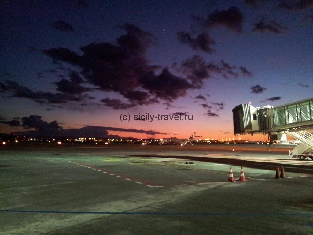 Аэропорт Катания