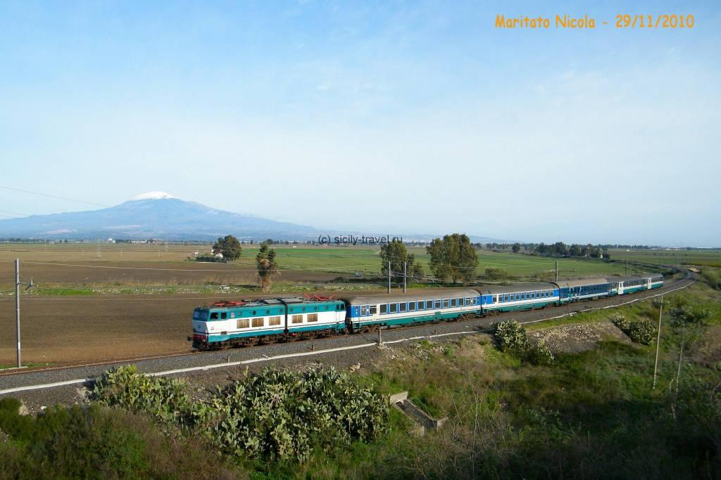 Поезда на Сицилии
