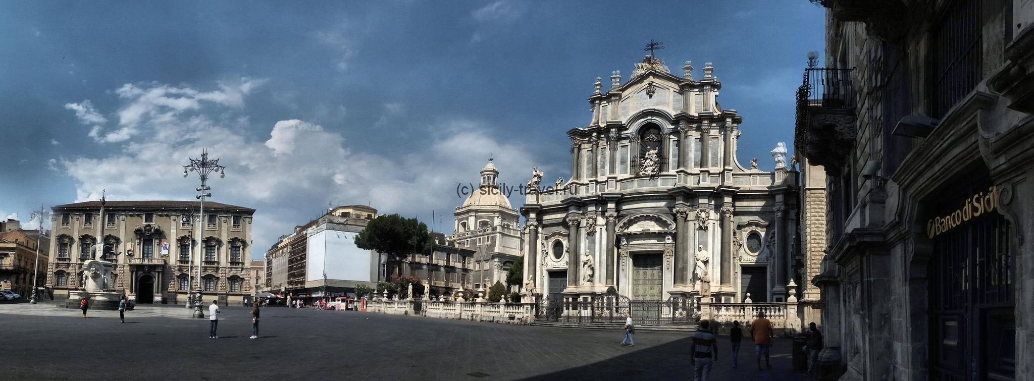 Центральная соборная площадь Катании