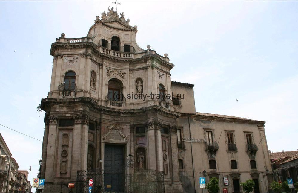 Церковь Сан Плачидо Катания