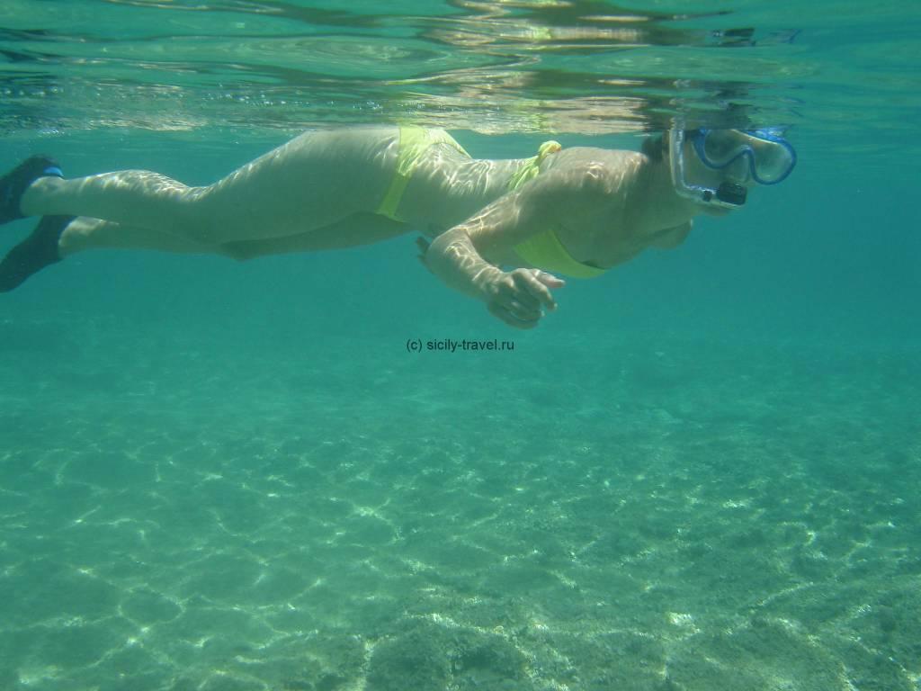 Дайвинг на Лампедузе