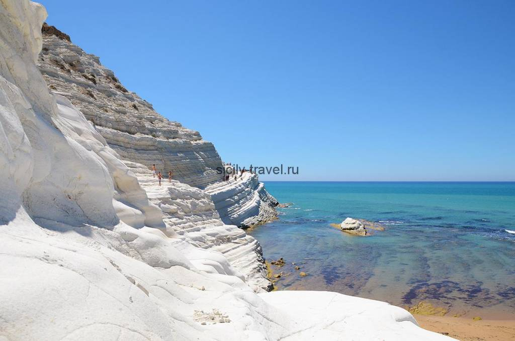 Достопримечательности Сицилии Скала деи Турки