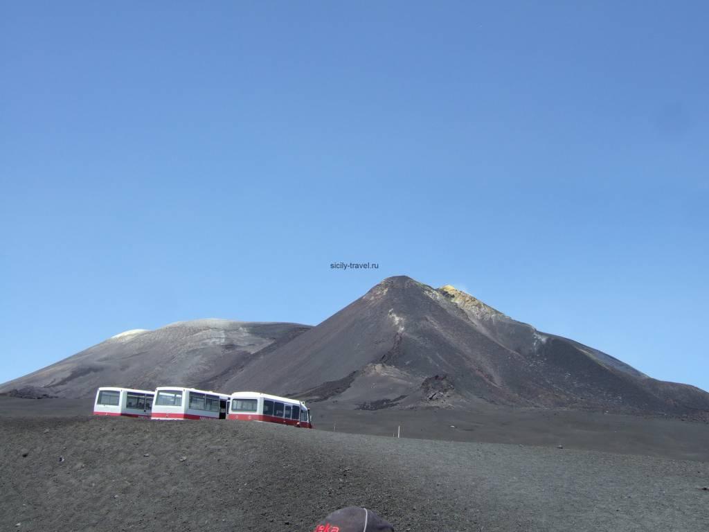 Достопримечательности Сицилии - Вулкан Этна