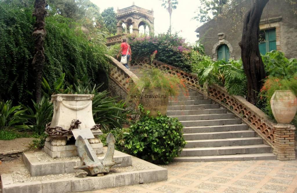 Публичный сад Таормина