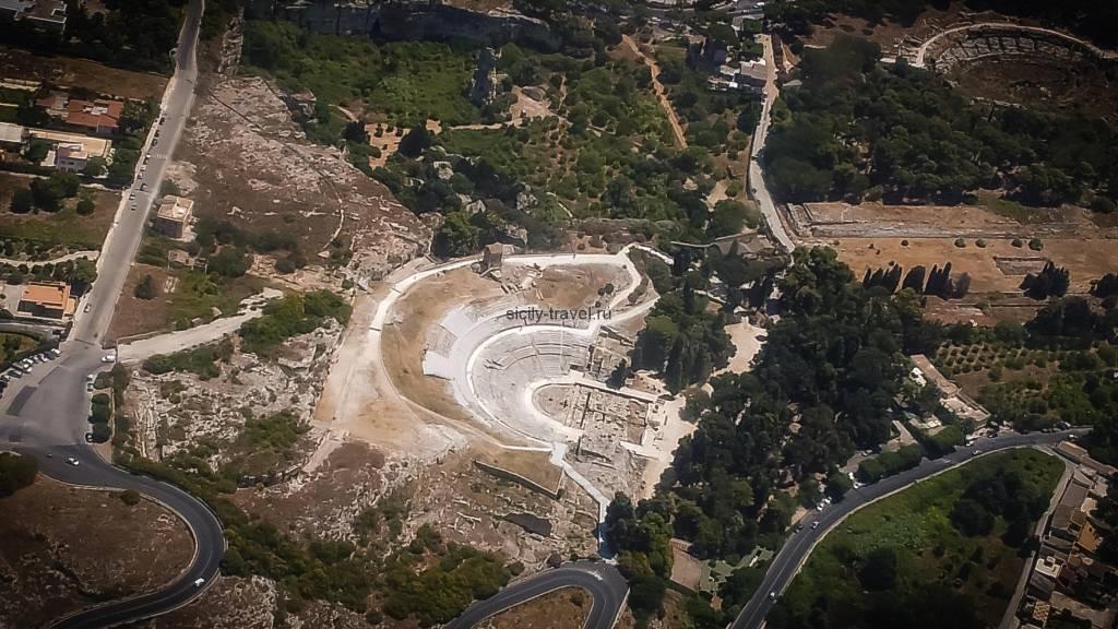 Достопримечательности Сиракуз. Греческий театр