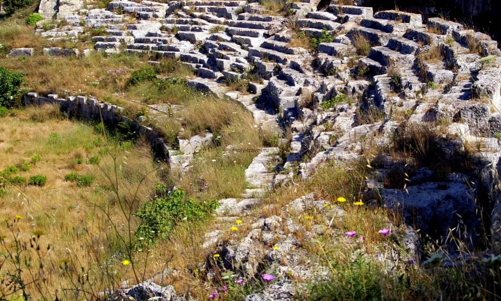 Достопримечательности Сиракуз. Римский Амфитеатр