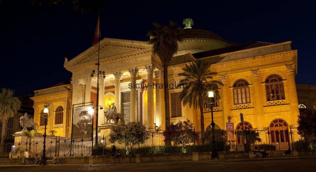 Оперный театр Палермо