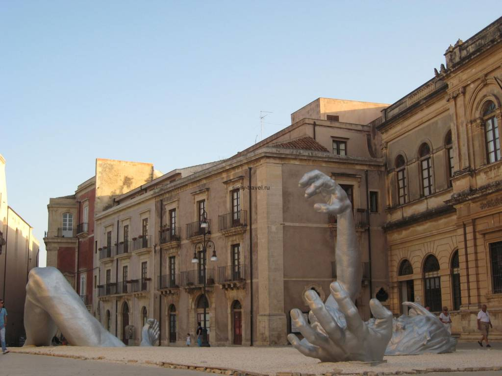 Памятник Архимеду