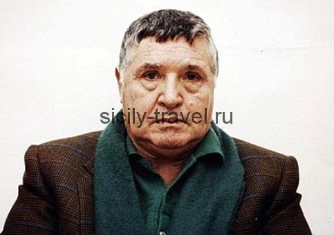 Босс сицилийской мафии Сальваторе Риина