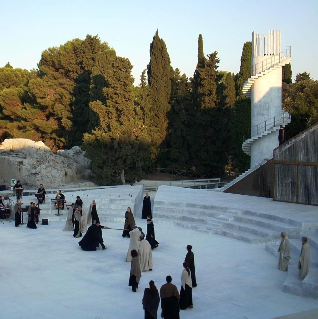 Греческий театр в Сиракузе