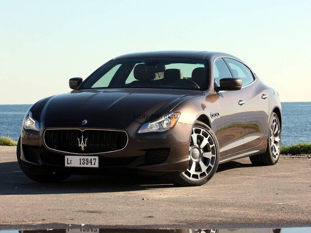 ВИП отдых на Сицилии Maserati Ghibli