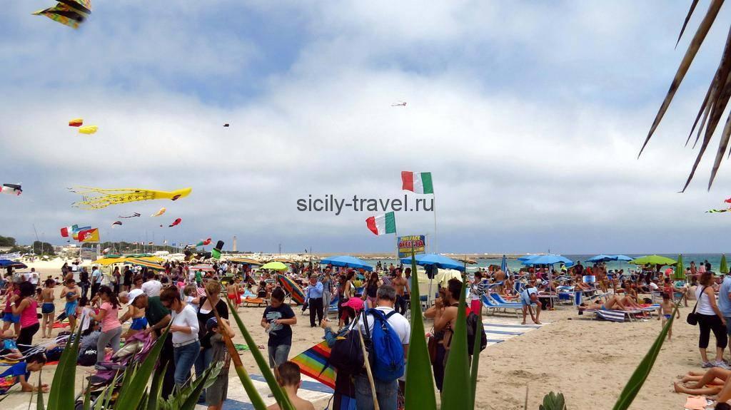 Фестиваль воздушных шаров в Сан Вито Ло Капо