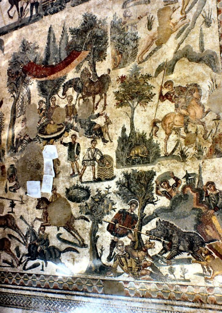 Мозаики Виллы дель Казале